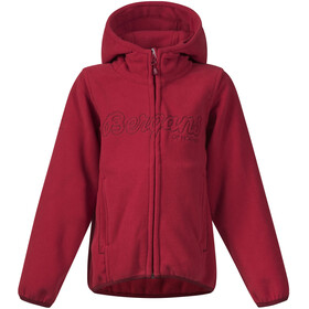 Bergans Bryggen Jacket Kids Red/Burgundy
